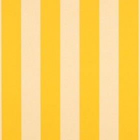 "Sunbr 46"" 5702 Yellow/White 6 Bar Fabric"