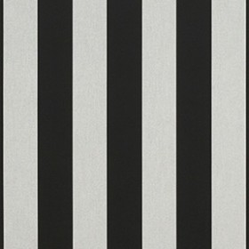 "Sunbr 46"" 5704 Black/White 6 Bar Fabric"