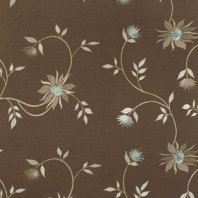 Sweeney Chocolate Kasmir Fabric