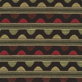 Talavera Stripe Licorice Kasmir Fabric