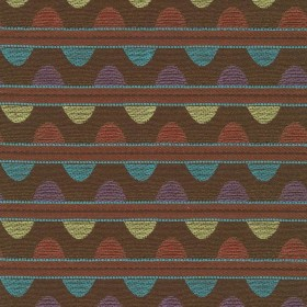 Talavera Stripe Pumpkin Latte Kasmir Fabric