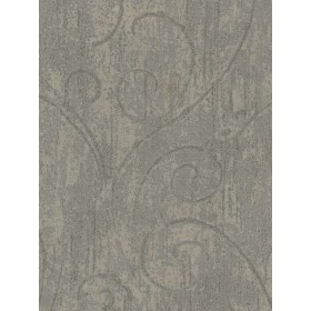 TG50309 Architectural Scroll Damask Wallpaper