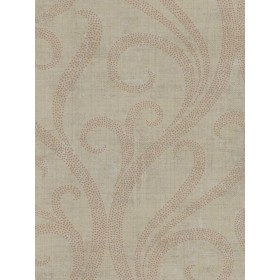 TG52201 Contemporary Architectural Ogee Damask Wallpaper