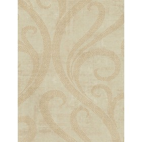 TG52203 Contemporary Architectural Ogee Damask Wallpaper