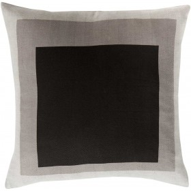 Cube Cutouts Grey Pillow | TO021-2222D