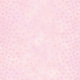Lucy Pink Butterfly Ombre Column Wallpaper