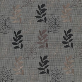 Treillage Black Walnut Kasmir Fabric