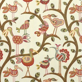 Crazy Ol Bird Sunrise Swavelle Mill Creek Fabric