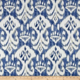 Voisey Ocean Blue Swavelle Mill Creek Fabric