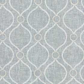 Curveball Emb Sterling Waverly PK Lifestyles Fabric