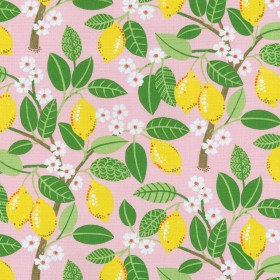 OD Lemon Tree Blush Waverly PK Lifestyles Fabric
