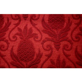 Greetings Cranberry Regal Fabric