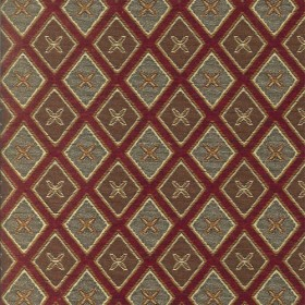 Umass Red Regal Fabric