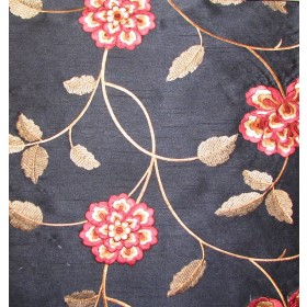 Isabella Paradise Black Valiant Fabric