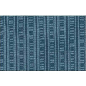 Ottoman Stripe Blue Laura Kiran Fabric