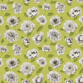 Waterscape Chartreuse Kasmir Fabric