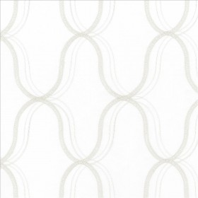 Wavefront White Kasmir Fabric