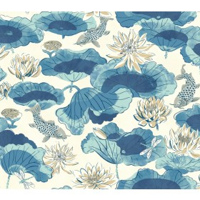 Waverly Classics Volume II Lotus Lake Wallpaper (WC7561_B42)