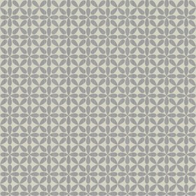WH2697 Cream Grey Vogue Geometric Satin Metallic Wallpaper