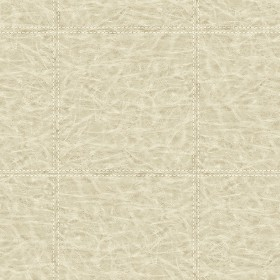 WP0091201 Study Check Taupe Leather Wallpaper