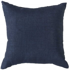 Stunning Solid Cover Blue Pillow | ZZ405-1320