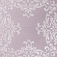 Gabrielle Mauve Lace Feature Wallpaper