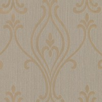 Luca Gold Damask Wallpaper