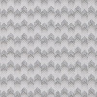Maxwell Silver Fabric Texture Wallpaper