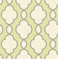 Structure Green Chain Link Wallpaper