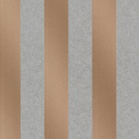 Magnus Copper Paisely Stripe Wallpaper
