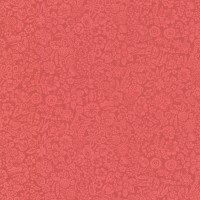 Majorca Red Vivacious Floral Relief Wallpaper