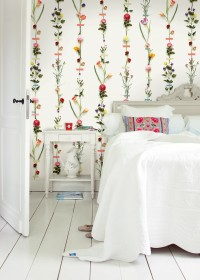 Flower Garland Wallpaper Mural