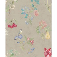 375021 Danique Khaki Garden Wallpaper