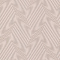 Zenia Light Pink Small Ogee Wave Wallpaper