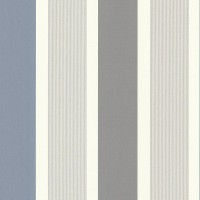 Horizon Grey Stripe Wallpaper