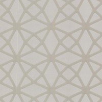 Enterprise Pewter Lattice Wallpaper