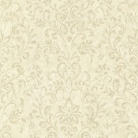 Presley Sand Country Damask Wallpaper