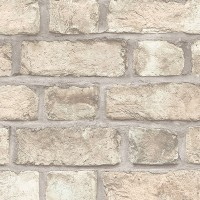 FH37516 Farmhouse Brick Wallpaper