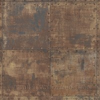 LL36228 Steel Tile Wallpaper
