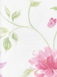 LS70111 Floral Insects Wallpaper