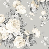 MH36505 Grand Floral Wallpaper