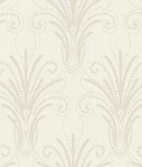 NR1572 White Off Whites Candlewick Wallpaper