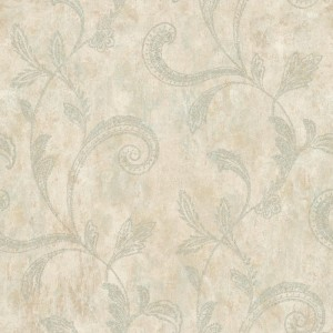 JR5791 paisley trail floral wallpaper