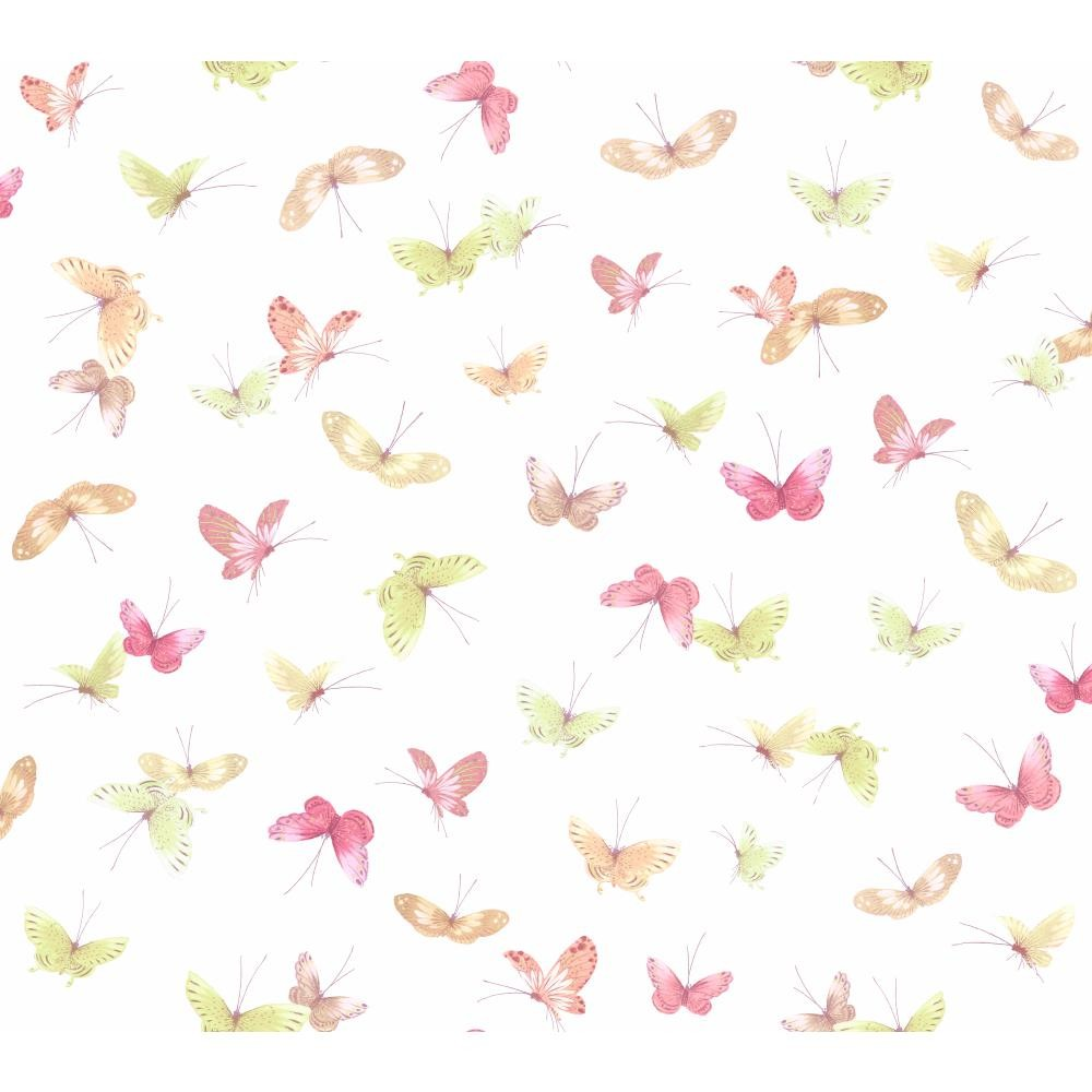 WB5475 Butterflies Kids Girl Insects Wallpaper