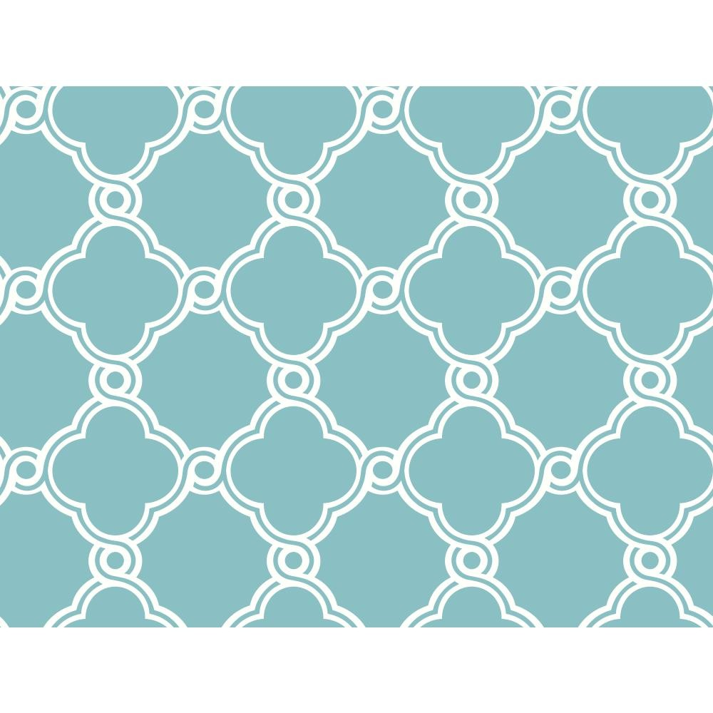 WB5507 Open Trellis Wallpaper