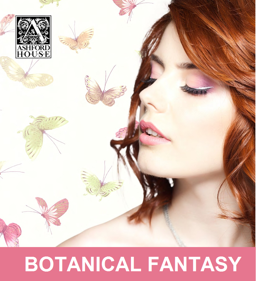 Botanical Fantasy Wallpaper Book