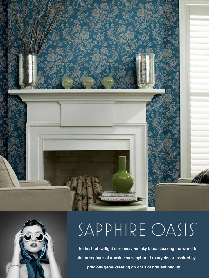 sapphire oasis wallpaper book