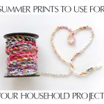 Summer Prints For Your Household Projects