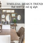 Timeless Design Trends That Never Go Out Of Style