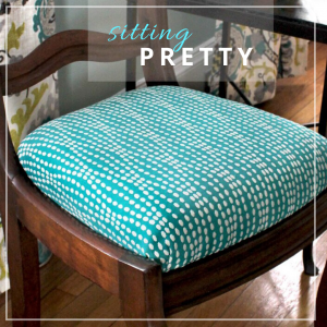 DIY Covering Dining Room Chairs